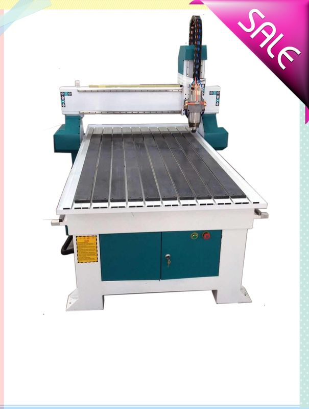 Single Head CNC Routers For Woodworking , Wood Cutting CNC Router Machine