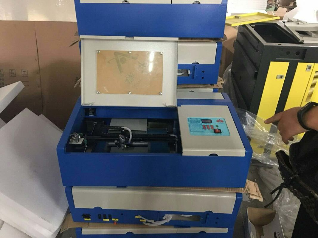 Small Laser Cutter Mini Laser Engraving Machine 300 X 200 Mm Working Area